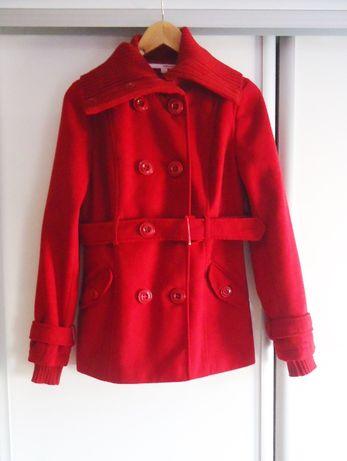 Czerwony płaszcz jesień/zima Tally Weijl