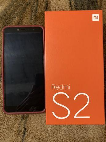 Продам смартфон/телефон Xiaomi Redmi S2 3/32GB/8 Ядер/Grey + 2 чехла