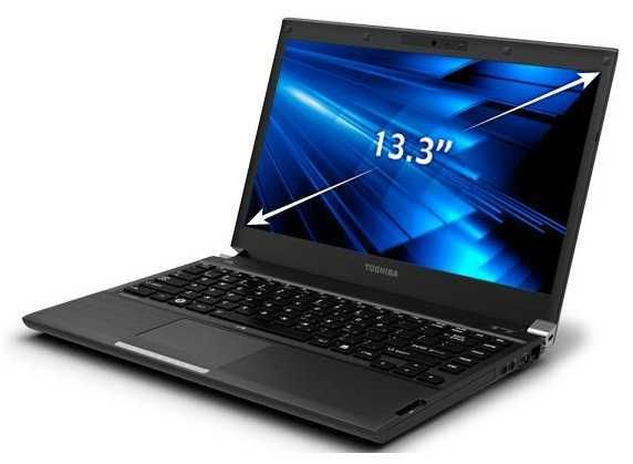 TOSHIBA PORTEGE topo gama profissional i7 3,7ghz 16GB memoria 2-DISCOS