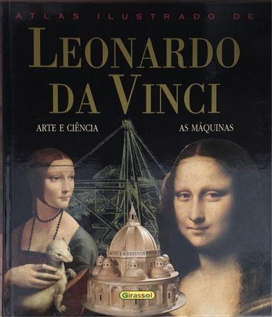 Atlas ilustrado Leonardo da Vinci Primeira Edição