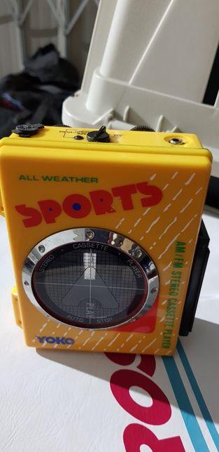 YOKO Leitor Cassetes/Rádio