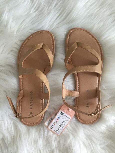 Sandały damskie nowe z metkami, rozmiar 36
