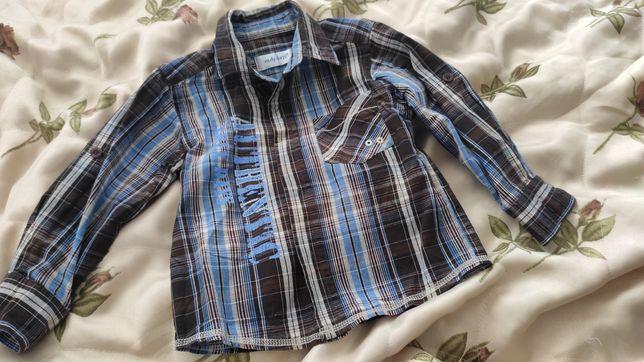 Сорочка рубашка для мальчика хлопчика 86 92