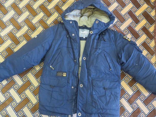 Куртка пуховик STIN для мальчика, размер 140, зима