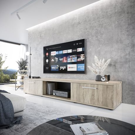 Duża nowoczesna SZAFKA RTV LUCO trufla 176 pod TV