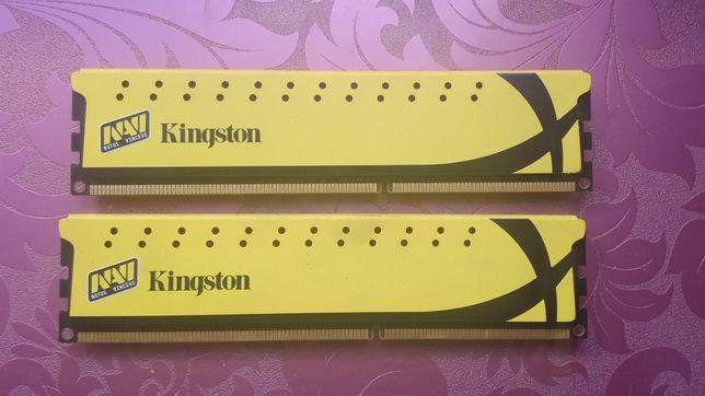 Оперативная память 4gb х2 DDR3 1600 kingston hyper x navi