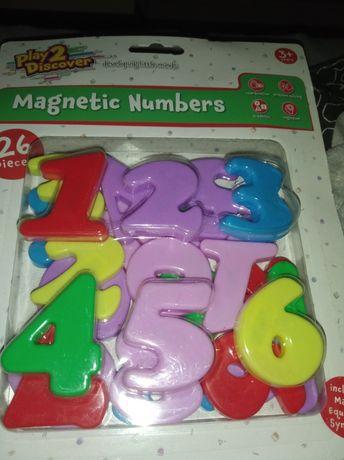 Magnetyczne cyferki