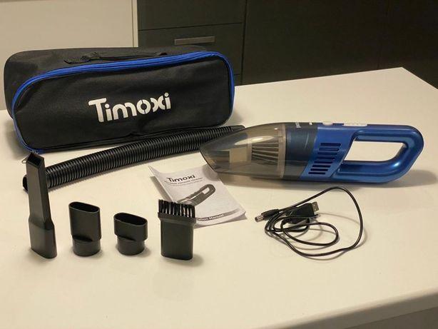 Bezprzewodowy Odkurzacz Samochodowy Ręczny Timoxi 90W USB Akumulatorow