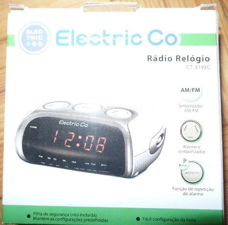 Rádio Relógio Despertador Electric CT-3193 (BR)