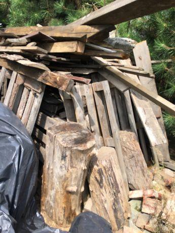 Drewno na opał oraz korzenie