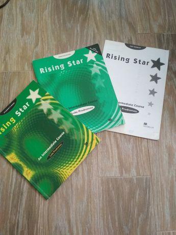 Книги англійська rising star intermediate