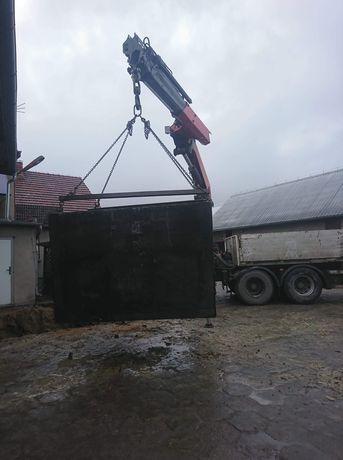 Szamba zbiorniki piwnice betonowe Katowice Bielsko-Biała Gliwice 12m/3