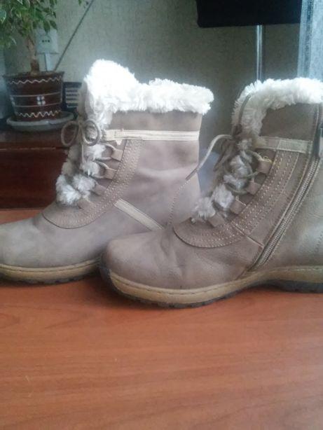 Ботинки , сапожки зима для девочки
