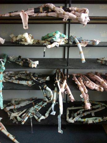 Замена патрона и реставрация боковых подушек безопасности ( шторок)