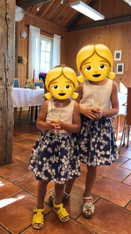 Family look платья на погодок
