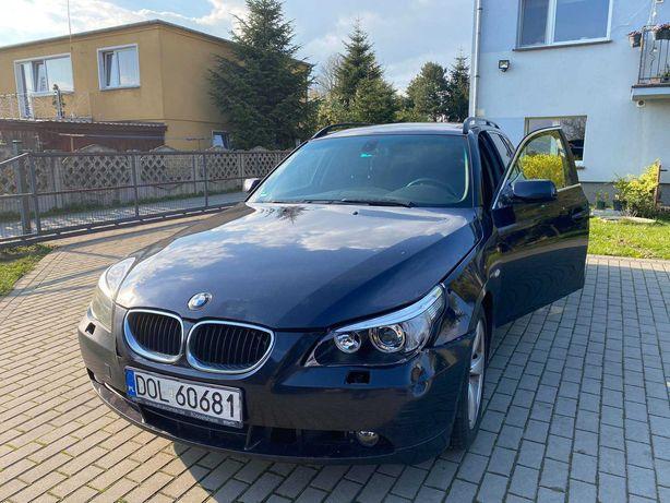 Sprzedam uszkodzone BMW Seria 5 E61, diesel 3.0D