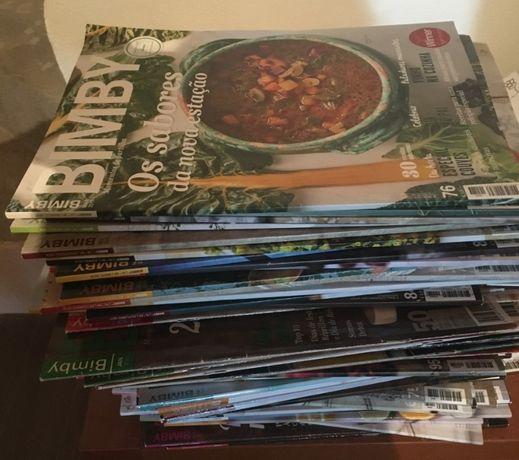 lote 70 revistas da bimby