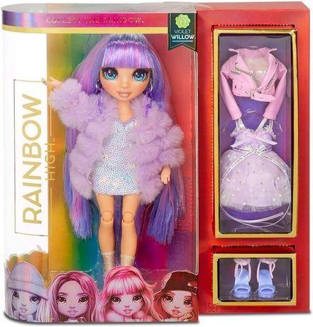ОРИГИНАЛ! Кукла Рейнбоу Хай - Виолетта с аксессуарами Rainbow High