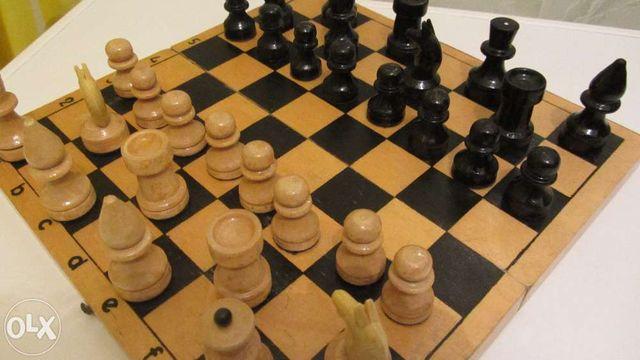 Шахматы СССР деревянные, пластмассовые