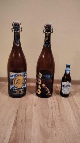 3l butelki po piwie z zamknięciem - kapsel, duża