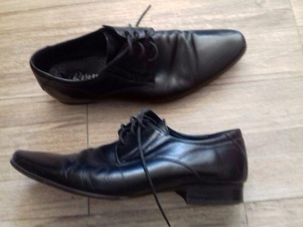 Мужские туфли, кожа, состояние новых