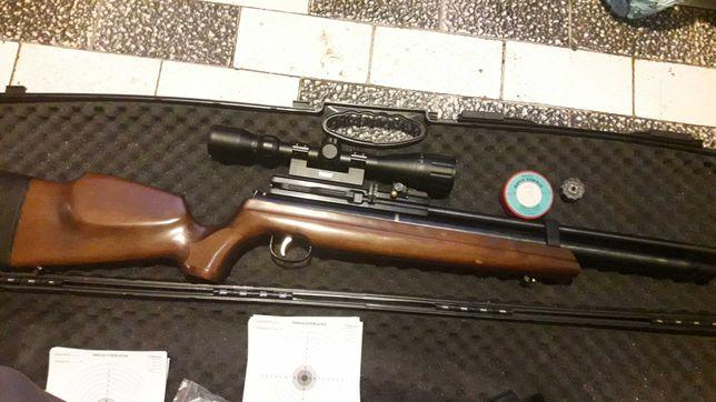 Kolba Wiatrowka PCP  Hatsan at 44 4,5mm
