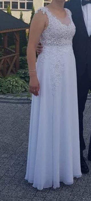 suknia ślubna stan bardzo dobry Sędziszów - image 1