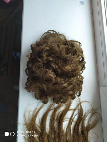 Парик, перука з натурального волося