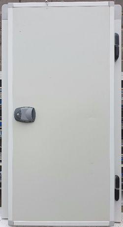 Drzwi chłodnicze do chłodni zawiasowe 80x200, 90x200 grubość 10cm NOWE