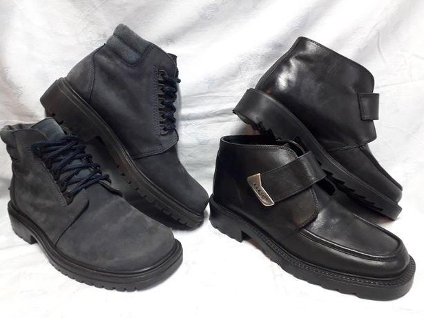 Ботинки кожа, оригинал HIS 42 размер.