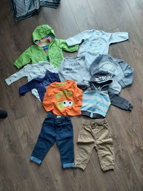 Zestaw, komplet, paka dla chłopaka 6mcy, spodnie, bluza , nike,ubrania