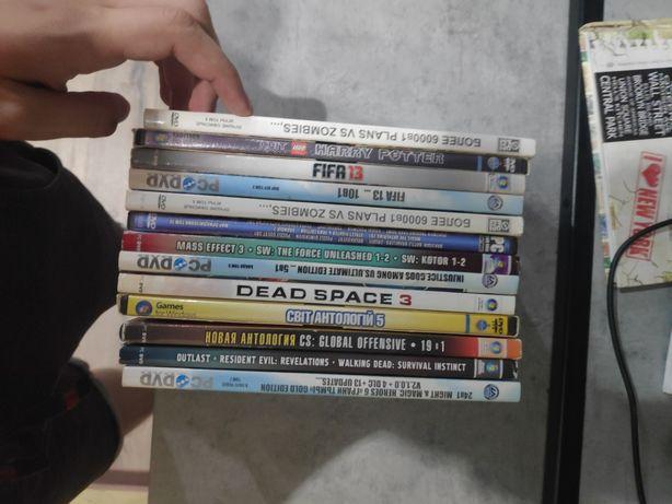 Диски с играми dvd
