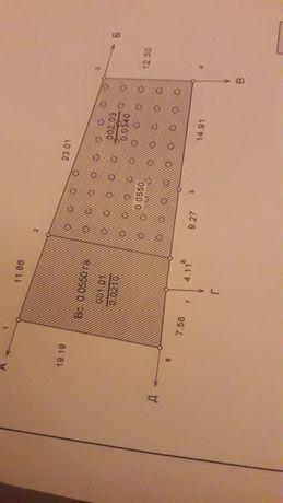 Продам участок 5,5 соток земли под застройку дома.Усатово у Гагарина.