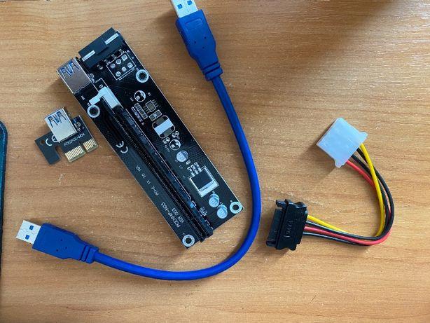Райзер (Riser) v003 Sata Толстый Кабель USB 3.0 Майнинг