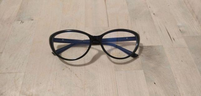 Óculos novos femeninos estilo gata sem graduação