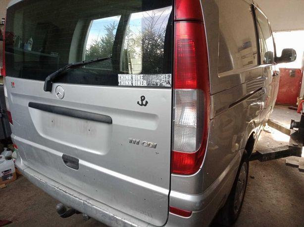 Mercedes Vito W639 maska zderzak przód lampa drzwi klapa