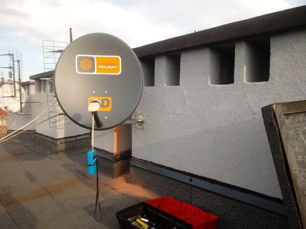 Montaż Ustawienie anten satelitarnych Wałbrzych - Głuszyca - Mieroszów