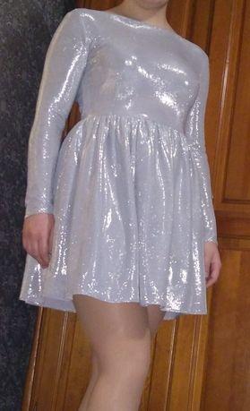 Wieczorowa sukienka, idealna na studniówkę
