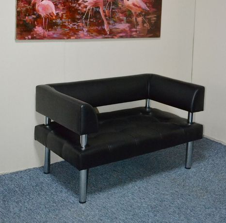 Офисный диванчик в кожзаме, диваны для офиса любого цвета