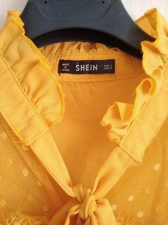 Blusa amarela SheIn