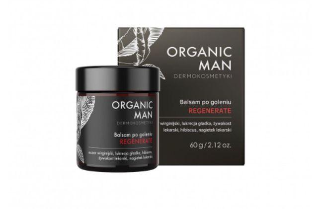 Organic Life Balsam po goleniu regenerujący Organic Man 50g