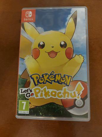 Гра Pokemon Let's Go Pikachu для Nintendo  Switch.