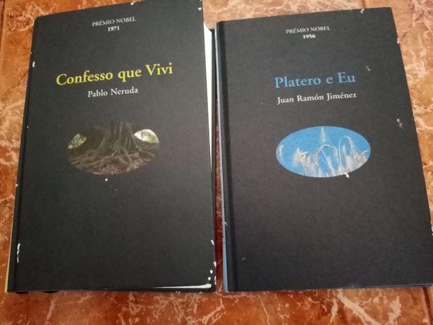2 livros antigos de coleção