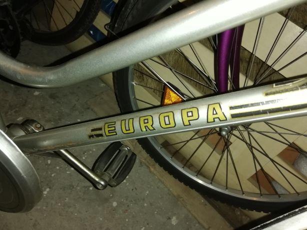 Niemiecki miejski rower europa