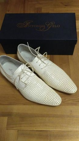 Туфли мужские кожаные Antonio Gelo 42р.