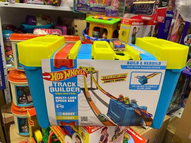 Трек хот вилс Грандиозные трюки Hot Wheels Track Builder