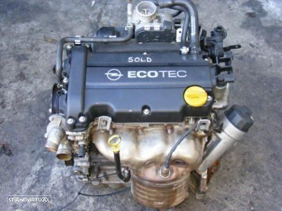 Motor OPEL CORSA D 1.2 16V 80CV, Ref: Z12XEP