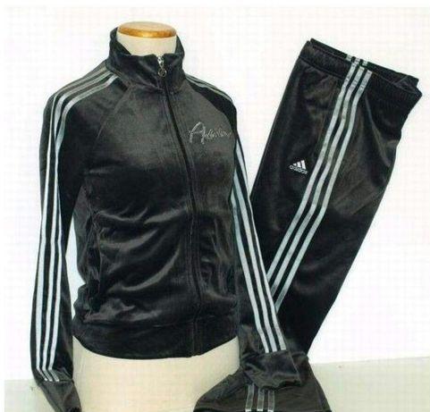 Welurowy / Dres / Adidas