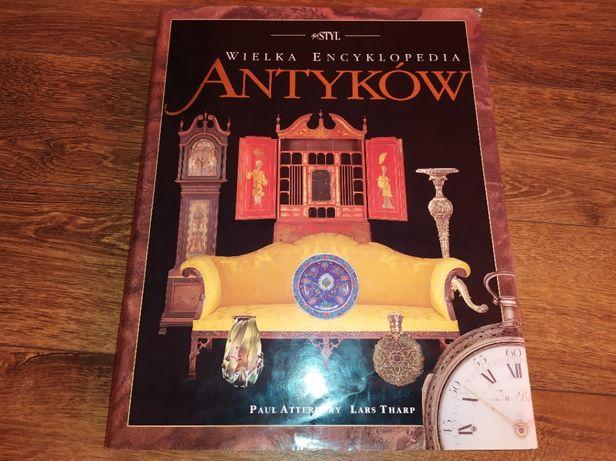 Książka Wielka Encyklopedia Antyków Atterbury Tharp Idealny Stan
