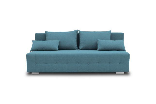 Sofa, kanapa rozkładana z funkcją spania Pojemnik na pościel, tapczan!